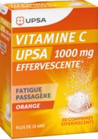 VITAMINE C UPSA EFFERVESCENTE 1000 mg, comprimé effervescent à Genas