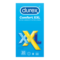 Durex Comfort Xxl Préservatif Lubrifié B/10 à Genas