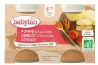 Babybio Pot Pomme Abricot Céréale à Genas